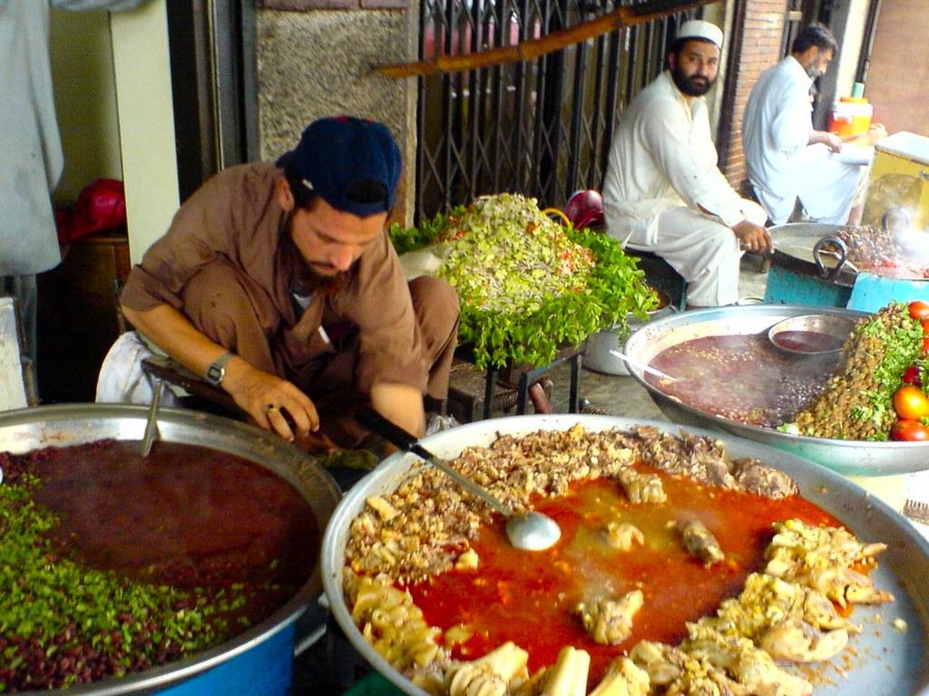 Eating Street Food In Vietnam