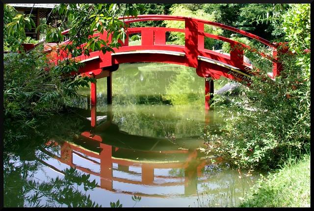 Pont du jardin japonais toulouse jardin japonais de for Jardin japonais toulouse