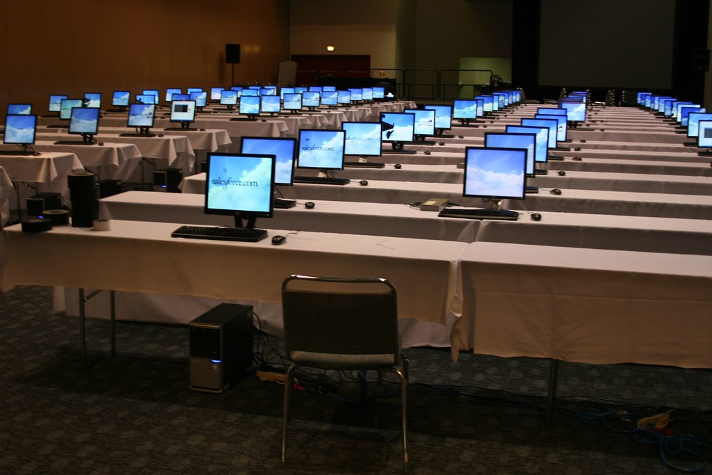 A lot of computers | jagerm | Flickr