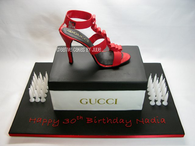 Shoebox And Stiletto Cake This Design Is Based On One By