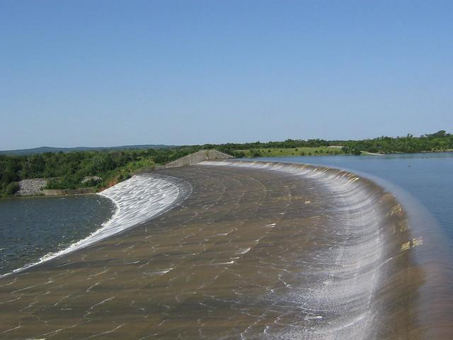 Lake texoma spillway flickr photo sharing for Texoma fishing license