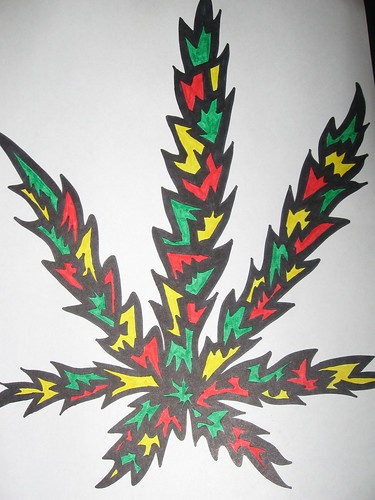 Cool Weed Leaf Drawings 1075227078 850a31c101 jpg