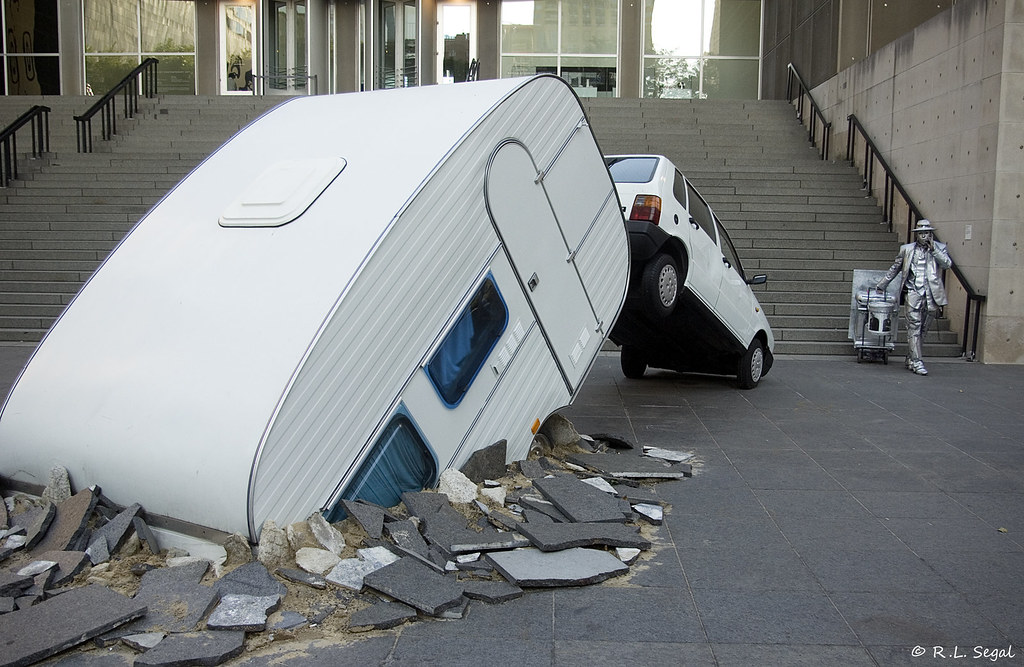 Camping Trailer Crash | CAPTION-WRITING CONTEST. I turned th… | Flickr
