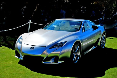 2007 Lexus LF-A Sports car concept color | by j.hietter