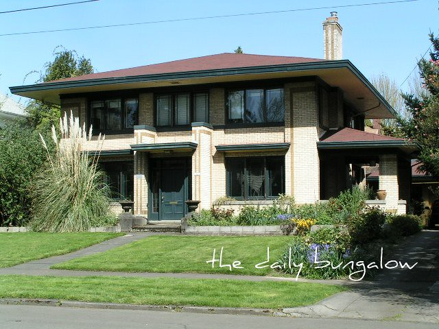 Prairie Style Home Ne Portland Irvington Neighborhood