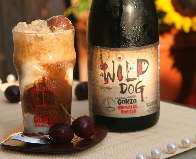 Gonzo imperial Porter Float with Chocolate Covered Cherries 4 | Flickr ...