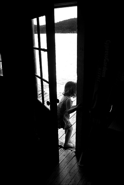 Hana walking out the door  Rick Bogacz  Flickr