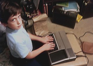 Me with my 1st computer | by chris league