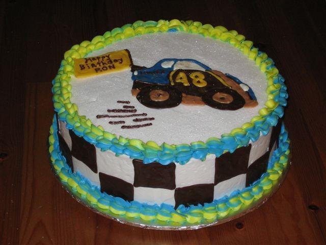 Jimmie Johnson 48 Birthday Cake Jimmie Johnson 48