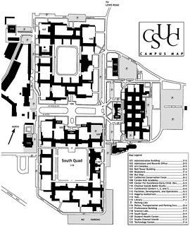 2002 Campus Map | by California State University Channel Islands