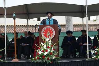 Herbert Carter speaking at Commencement | by California State University Channel Islands