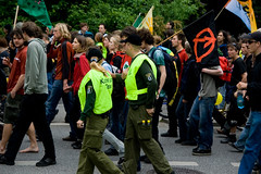 Anti-G8 Demonstrations (04) - 03Jun07, Rostock (Germany)