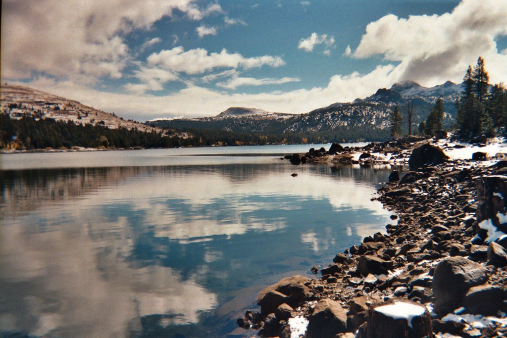 Caples lake hwy 88 ca this almost looks like a fake for Caples lake fishing report