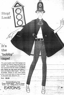 Vintage Ad #273: It's the Bobby Cape! | by jbcurio