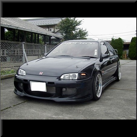 Honda Civic EG9 | Civic Eg9 Front view | akitachung | Flickr