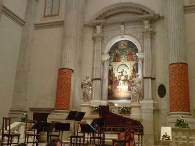 Concierto en la Iglesia de San Vidal (Chiesa di San Vidal)