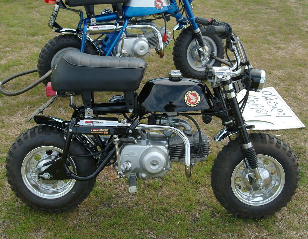 Honda Mini Trail Monkey Bike Rikdom Flickr