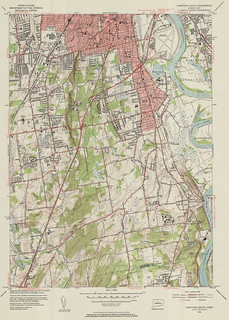 Hartford South Quadrangle 1952 - USGS Topographic Map 1:31,680 | by uconnlibrariesmagic