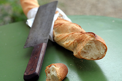 Baguette & Knife | by David Lebovitz
