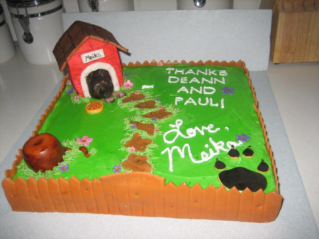 Dog House Cake Pan