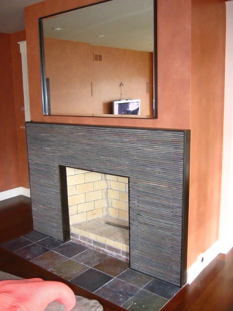 Simple Fireplace Screen