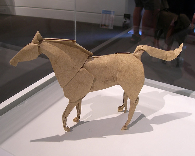 Origami Horse By Stephen Weiss From The Origami Now Exhi Flickr