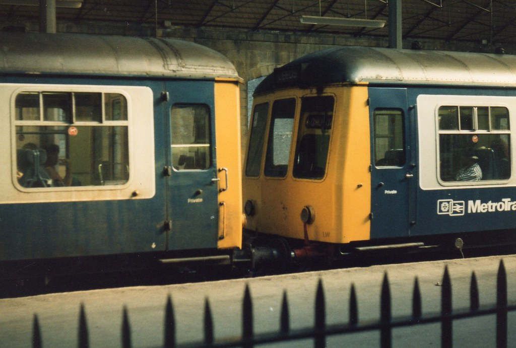 British Rail Metrotrain DMUs 1980s Im Guessing I Took