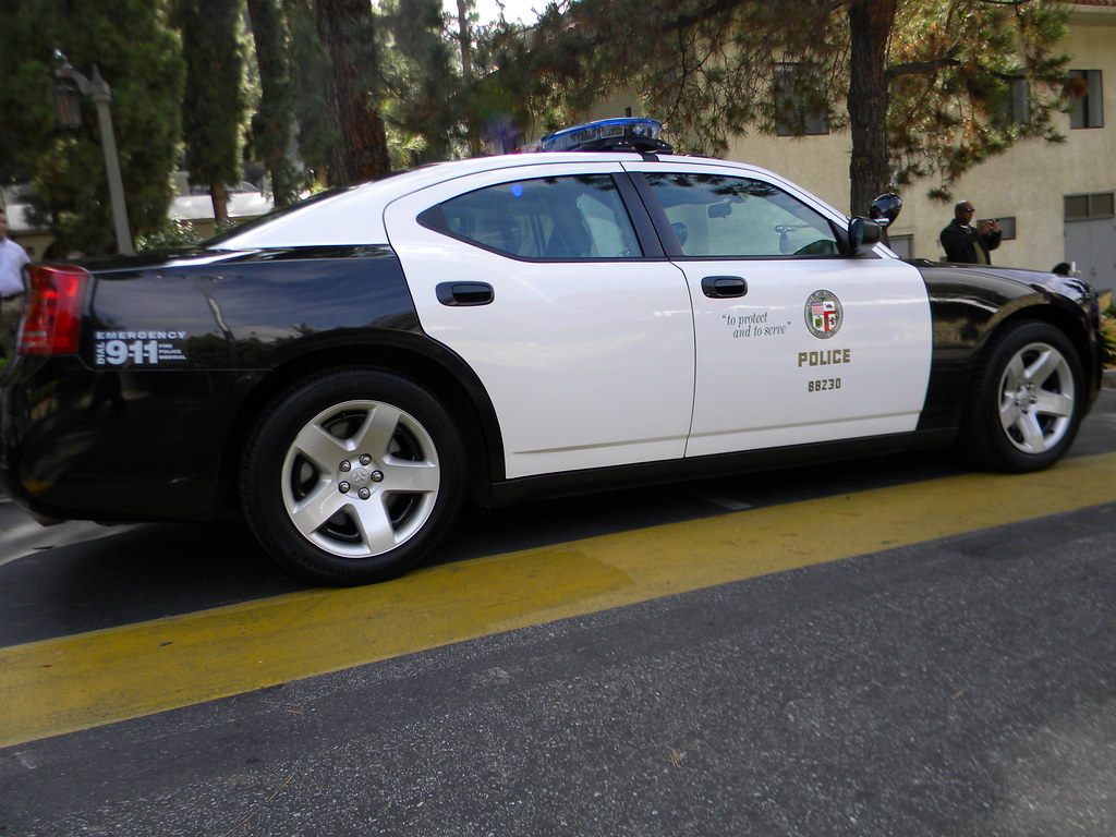 Lapd 2010 Dodge Charger Lapd Cops For Tots 5th Annual