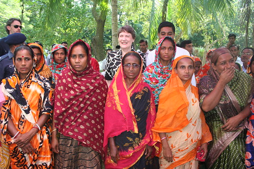 Helen Clark in Bangladesh | by United Nations Development Programme
