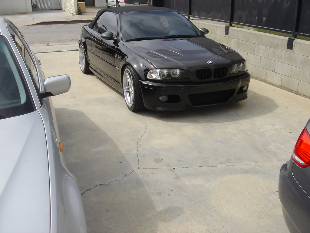 Bmw E46 M3 Convertible With Rd Sport Rd2 19 Inch Wheels
