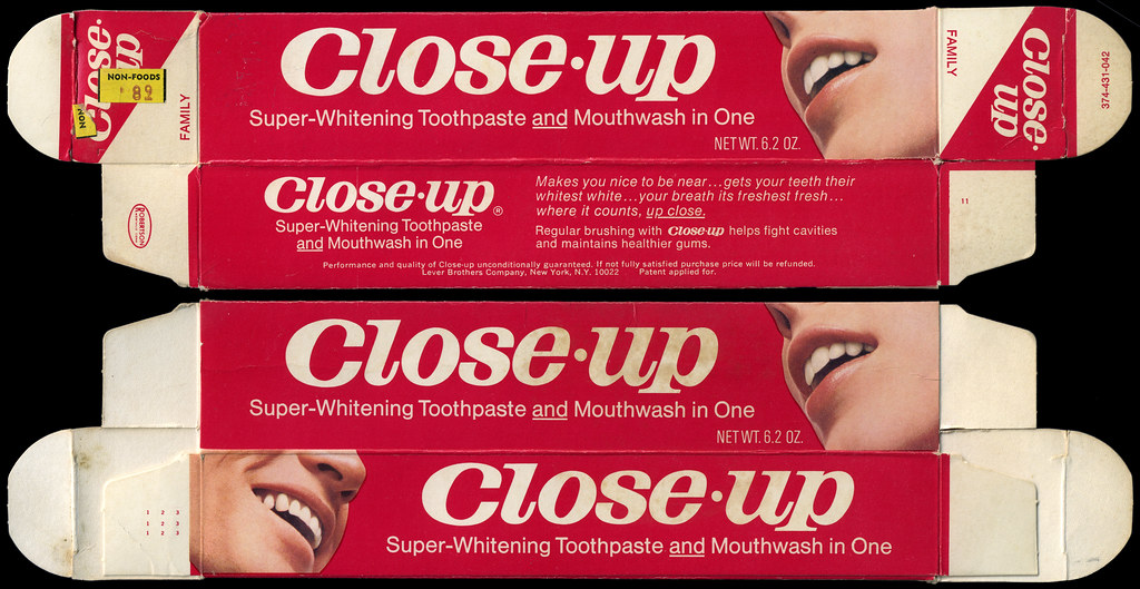 According to Crest, the whitening toothpaste will remove up to 95% of surface stains in just three days.