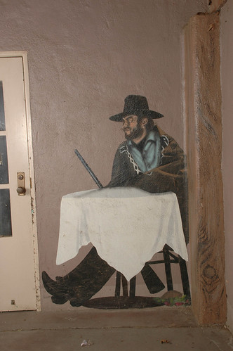 Walk of Fame, Mural of Clint Eastwood from A Fistful of Dollars | by California State University Channel Islands
