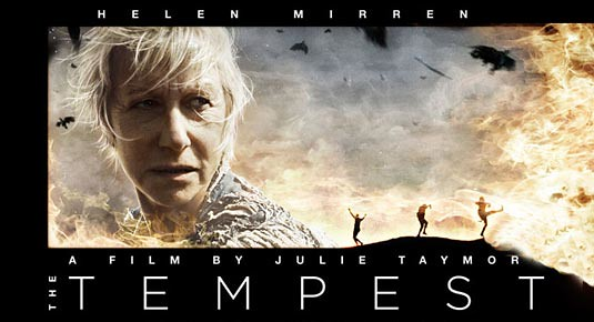 the tempest helen mirren official film poster movie flickr