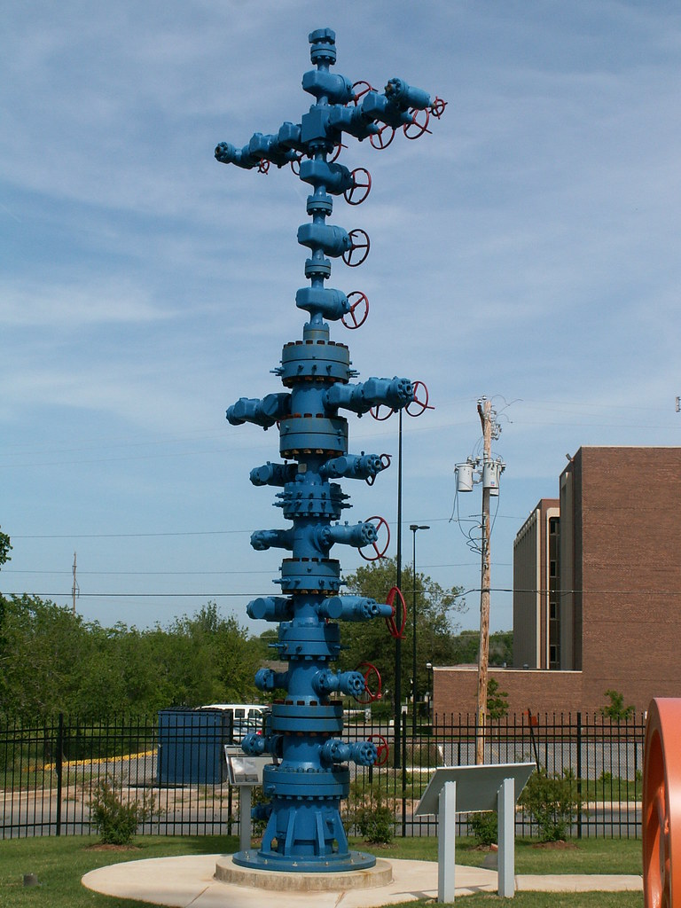 Oil Well Christmas Tree   bradyphil   Flickr
