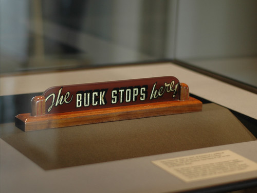 The Buck Stops Here - Harry S. Truman Presidential Museum and Library - Independence, Missouri | by Marshall Astor - Food Fetishist