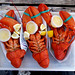 Massachusetts Lobsters served outside.