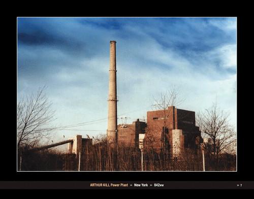 Monuments Of Chaos Arthur Kill Power Plant The Arthur