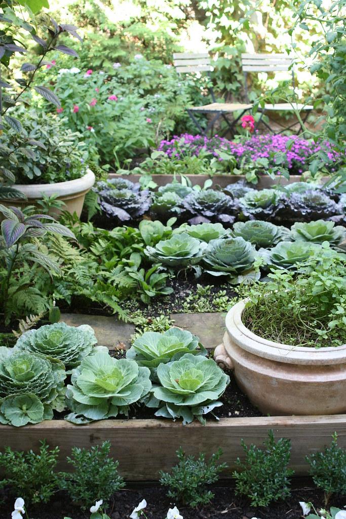 Kitchen Garden At Bolen Residence This Raised Bed