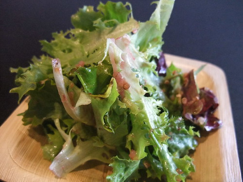 SFO Day 2: Fresh Express Frisee Salad | by swampkitty