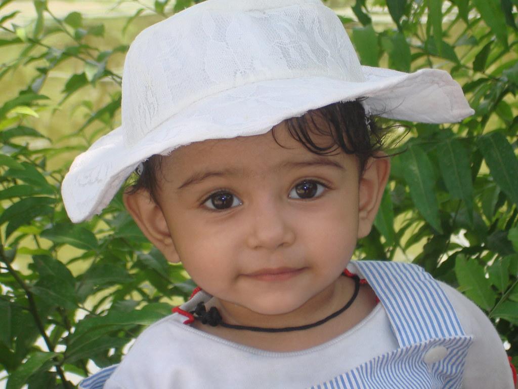 Cute Small Baby Mudra Mudra Facing Camera Spgupta 999