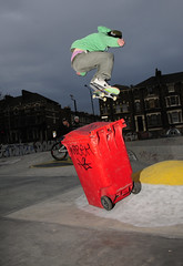 Will K backside 180 ollie