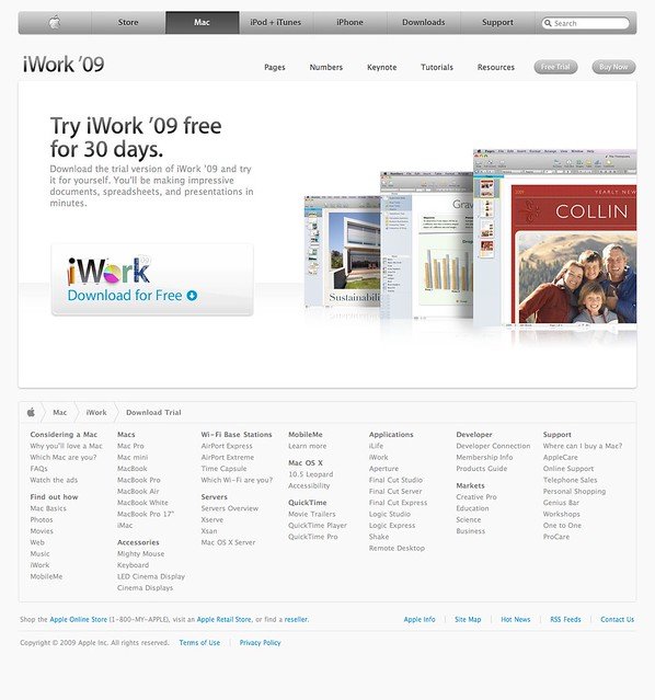 How to eliminate iwork '09 serial number prompt.