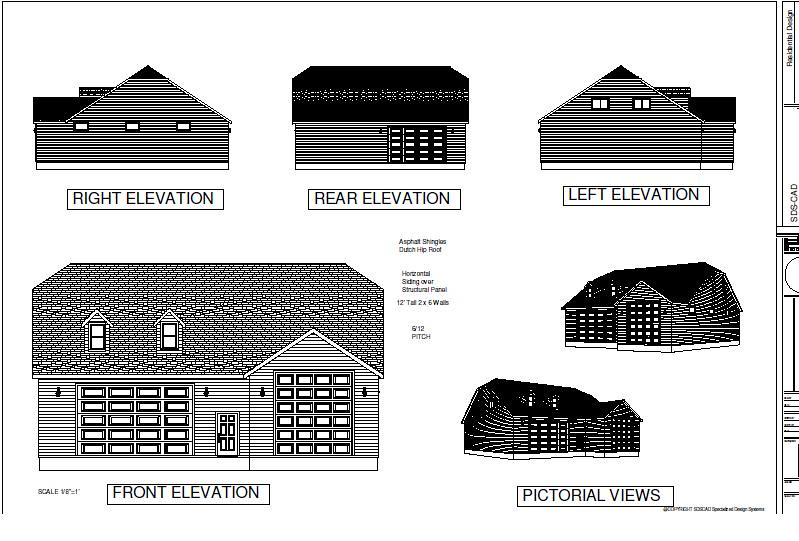 Download rv garage plans g383a 20 x 60 x 14 and 50 x 43 for 50 x 60 garage plans