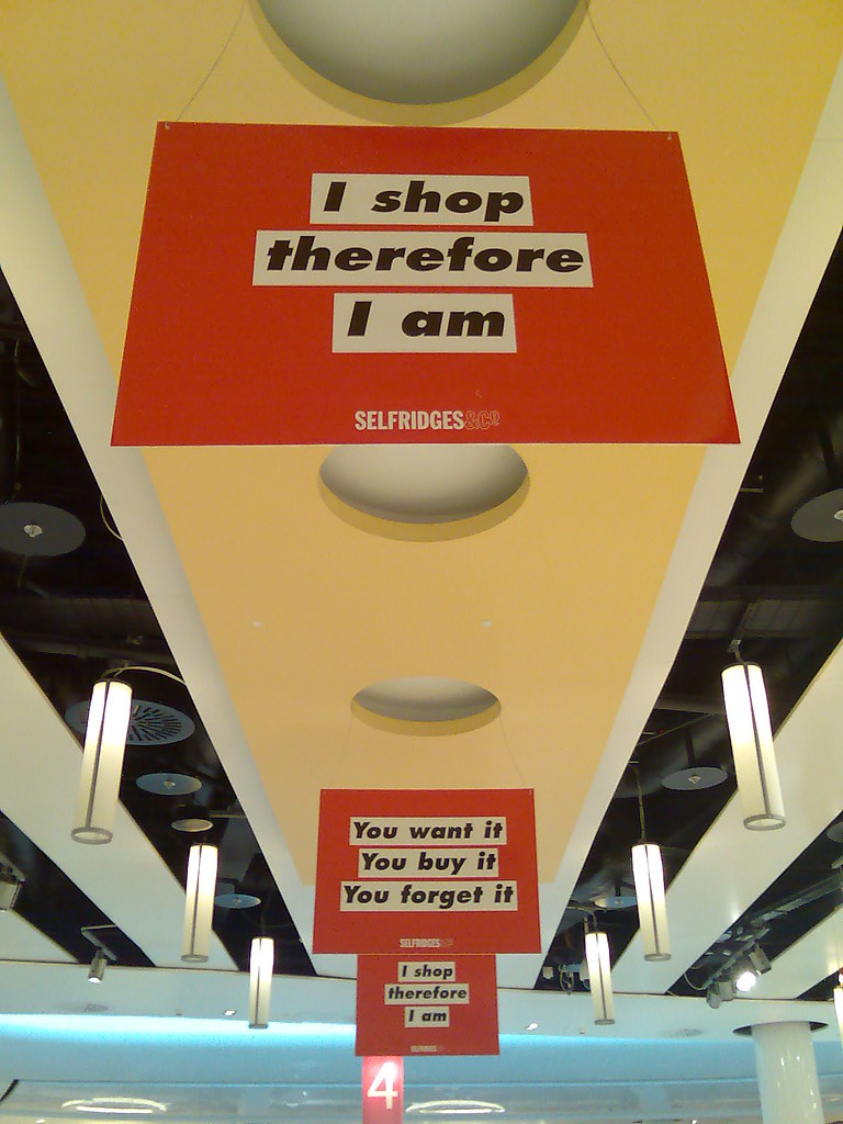 i buy therefore i am essay