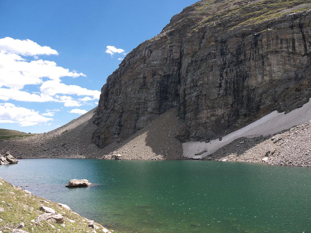 Gibraltar Lake Indian Peaks Wilderness Colorado