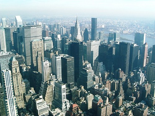 View From Top Of Empire State Building