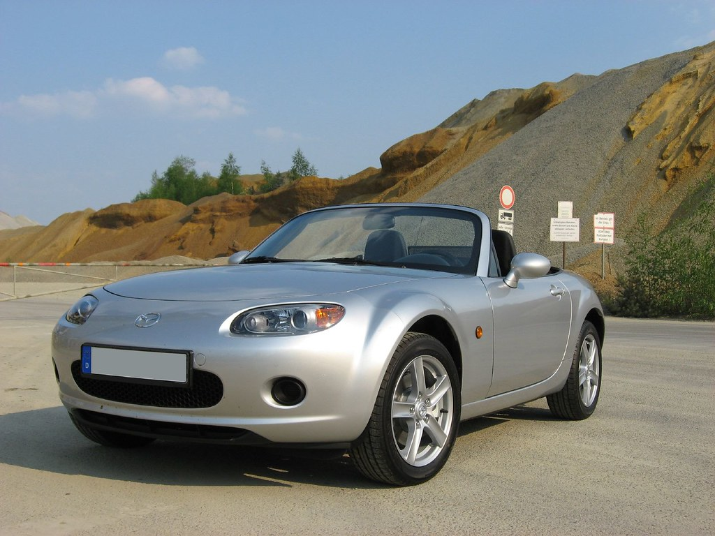 mazda mx 5 nc my small car viewed from the front it 39 s got flickr. Black Bedroom Furniture Sets. Home Design Ideas