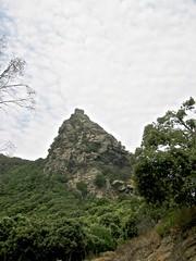 1/ Le col de Pinzu a Vergine (Cap Corse)