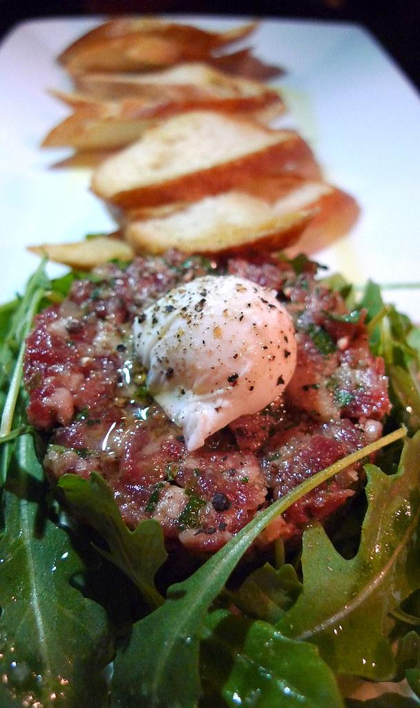 Classic Steak Tartare | Classic Steak Tartare with Poached Q ...