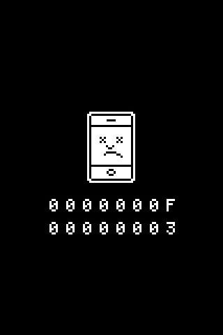 Sad iPhone wallpaper   Flickr - Photo Sharing!
